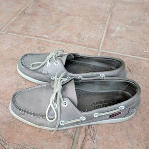 Sebago Leather Boat Shoes